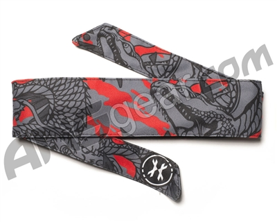 HK Army Headband - Ryu Red