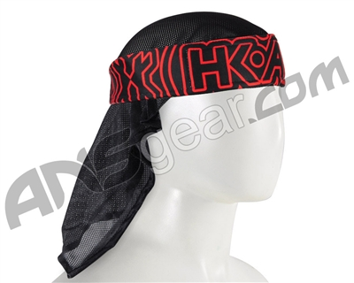 HK Army Headwrap - Pulse Red