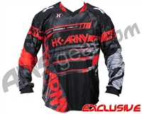 HK Army 2019 Hardline Pro Paintball Jersey - Fire