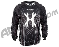 HK Army HSTL YOUTH Paintball Jersey - Black/Grey