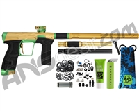 HK Army Invader Geo CS2 PRO Paintball Gun - Gold/Green