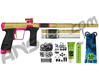 HK Army Invader Geo CS2 PRO Paintball Gun - Gold/Pink