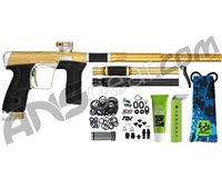HK Army Invader Geo CS2 PRO Paintball Gun - Gold/Silver