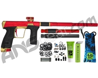 HK Army Invader Geo CS2 PRO Paintball Gun - Red/Gold