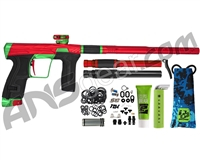 HK Army Invader Geo CS2 PRO Paintball Gun - Red/Green