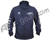 HK Army Dynasty Zip Up Windbreaker Jacket - Blue