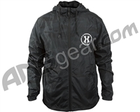 HK Army Slash Zip Up Windbreaker Jacket - Blackout Camo