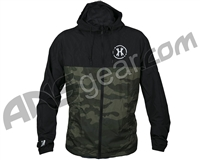 HK Army Slash Zip Up Windbreaker Jacket - Camo