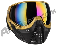 HK Army KLR Paintball Mask - Blackout Gold