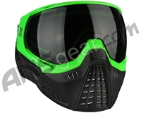 HK Army KLR Paintball Mask - Blackout Neon Green