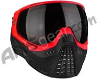 HK Army KLR Paintball Mask - Blackout Red