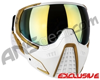 HK Army KLR Paintball Mask - Ryan Greenspan Autographed White/Gold