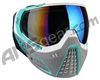 HK Army KLR Paintball Mask - Slate White/Teal