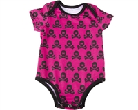 HK Army Baby Onesie - All Over Pink/Black