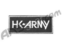 HK Army Velcro Patch - Typeface