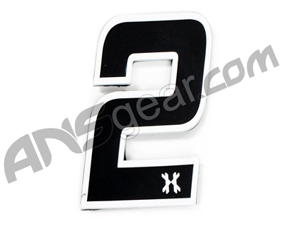 HK Army Rubber Velcro Patch - Number 2