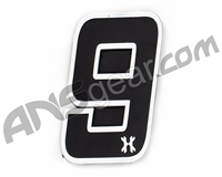 HK Army Rubber Velcro Patch - Number 9