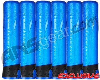 HK Army 6-Pack 165 Round Push Button Paintball Pod - Blue/Black/Blue (13010001)