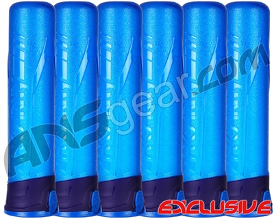 HK Army 6-Pack 165 Round Push Button Paintball Pod - Blue/Purple/Blue (13010004)