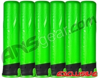 HK Army 6-Pack 165 Round Push Button Paintball Pod - Lime/Black/Lime