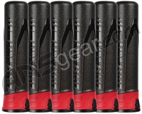 HK Army 6-Pack 165 Round Push Button Paintball Pod - Ninja/Red/Black (13010010)