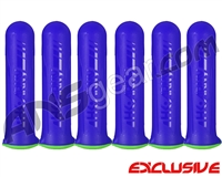 HK Army (6 Pack) 150 Round HSTL Paintball Pod - Purple/Neon Green