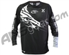 HK Army DryFit Practice Paintball Jersey - Dynasty Black/White