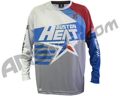 HK Army DryFit Practice Paintball Jersey - Houston Heat