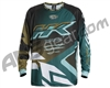 HK Army Retro Paintball Jersey - Edge Aqua/Gold