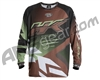HK Army Retro Paintball Jersey - Edge Brown/Olive