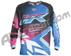 HK Army Retro Paintball Jersey - Edge Blue/Pink