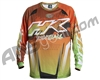 HK Army Retro Paintball Jersey - Liquid Orange/Lime
