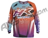 HK Army Retro Paintball Jersey - Liquid Orange/Teal
