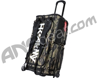 HK Army Expand Rolling Gear Bag - Woodland Tiger Stripe