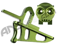 HK Army Rotor/LTR Skeleton Power Button & Release Trigger Kit - Green