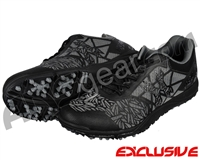 HK Army Shredder 2 Paintball Cleats - Black/Grey