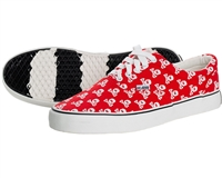 HK Army Canvas Sneakers - HK Skull Red