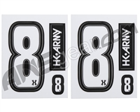 HK Army Number Sticker Pack - 8