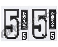 HK Army Number Sticker Pack - 5