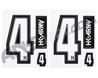 HK Army Number Sticker Pack - 4