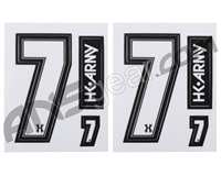 HK Army Number Sticker Pack - 7