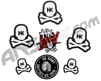 HK Army Skull Sticker Pack