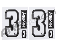 HK Army Number Sticker Pack - 3