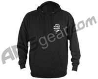 HK Army Anti Major Major Club Pull Over Hooded Sweatshirt - Black