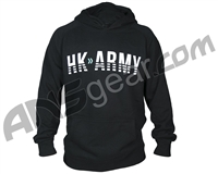 HK Army Boost Pull Over Hooded Sweatshirt - Black
