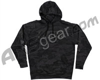 HK Army Off Break Pull Over Hooded Sweatshirt - Blackout