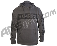 HK Army Off Break Pull Over Hooded Sweatshirt - Charcoal