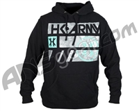 HK Army Shale Pull Over Hooded Sweatshirt - Black