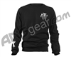 HK Army Thrasher Crewneck Sweatshirt - Black