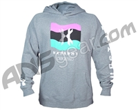 HK Army Wavy Pull Over Hooded Sweatshirt - Grey